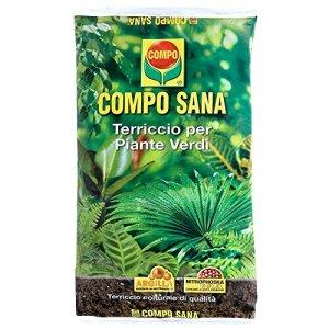 Compo Sana Terreau plantes vertes Sachet de 20lt