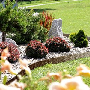 Deuba – Bordure de Jardin 7,8 m • Couleur Marron – délimitation Jardin aménagement du Jardin