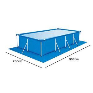 evergremmi Tapis de Sol pour Piscine – Tapis de Piscine à Plancher carré pour Piscine rectangulaire, piscines Hors Terre, Tapis Facile à Nettoyer