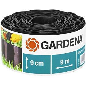 Gardena Bordure de plateband 9cm haut/9m Long, Marron, 30 x 30 x 30 cm