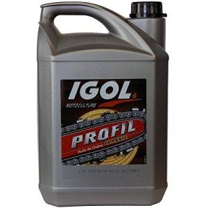 GT Garden Huile de chaîne filante IGOL pour tronçonneuse et élagueuse – 5 litres