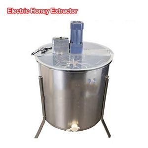 MASODHDFX Acier Inoxydable 6 Cadre électrique Extracteur De Miel Épaississement Miel Extraction Machine Miel séparateur nid d'apiculture Outil 1pc