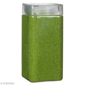 Sable décoratif – Vert prairie – 740 g