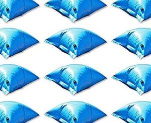 well2wellness Coussins gonflables d'hivernage PE Deluxe pour piscine – avec valve de sécurité – set 10 coussisns