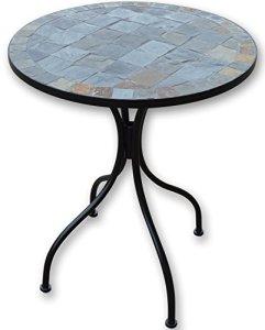 Woodside – Table basse – pour le jardin/l'extérieur – motif mosaïque