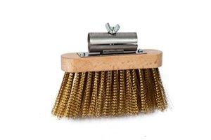 Falci 249964-91Brosse pivotante pour Retirer Les Cendres du Four, 13x 3,2cm, Gris