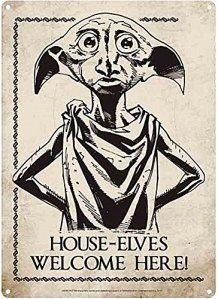 Harry Potter Dobby House Elves Petit Panneau 210 mm x 150 m