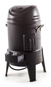 Char-Broil The Big Easy – Fumoir, rôtissoire et barbecue avec technologie TRU-Infrared, finition noire.