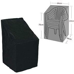 Couverture Housse de Protection pour Fauteuil Balcon et chaises empilables – pour Meubles de Jardin, Housse Protection, Couverture de Patio Fauteuil de Bâche(1pc)