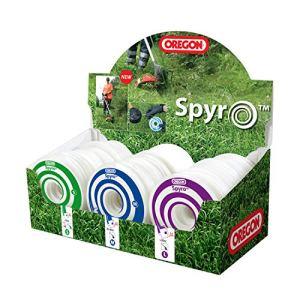Oregon Spyro Set de Fil débroussailleuse, Vert