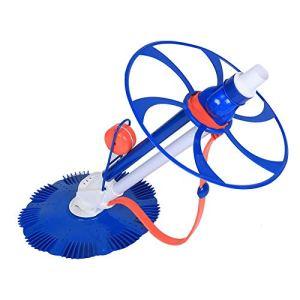 Jarchii Aspirateur de Piscine, équipement Automatique de Nettoyage de Piscine de tête d'aspiration d'aspirateur de Piscine Installation Facile Se Reliant au système de Filtre de Piscine