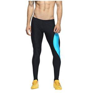 Junjie Entraînement sportif pour hommes Bodybuilding Workout Fitness Pantalon long Pantalon de sport