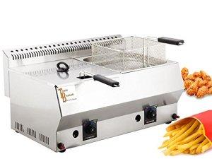 TurcoBazaar Deep Fryer 16LT–tb-industrial propane–LPG Deep Fryer. Ce certifiées