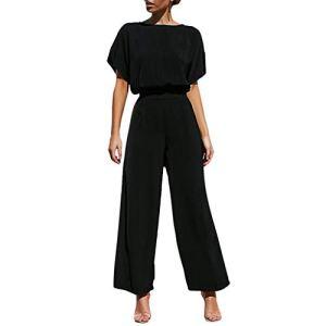 Viewk 2pcs Mode Femmes Casual Manches Courtes Solide Bandage t-Shirts à Capuche + Costume