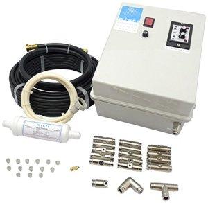 S&M M S & 581502 Kit de Nébulisation Haute Pression avec Pompe 12 Buses