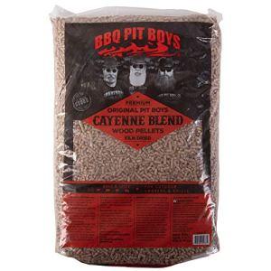 BBQ Pit Boys BPB-RCP-775 Mélange de granulés de Bois Cayanne (Environ 9 kg), Naturel