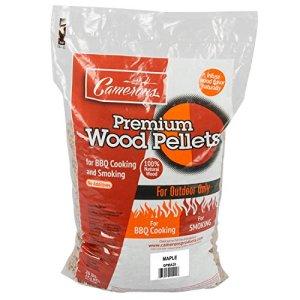 Camerons GPMA20 Granulés de Bois Naturel pour Barbecue sans Remplissage Érable 9 kg