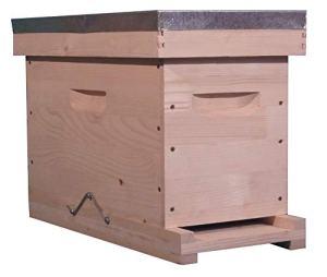 côté ruche Ruchette Dadant Fond réversible