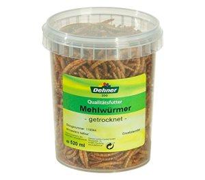 Dehner Paquet de vers de farine séchés 1 x 520 ml