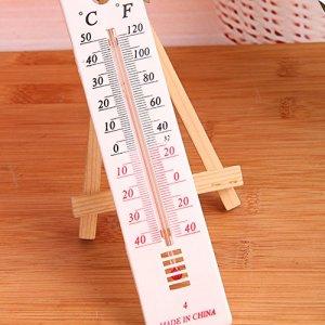 EMVANV – 30–50 degrés Celsius Thermomètre Mural pour Serre de Jardin, Maison, Bureau