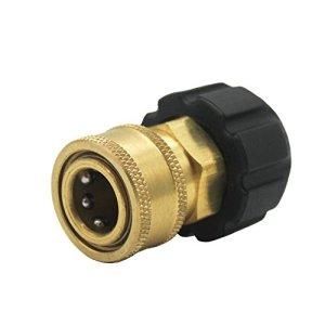 Futureyun 3/20,3cm Quick Connect NPT au M2214mm métrique Raccord pour Nettoyeur Haute Pression Pistolet et Tuyau, Twis285