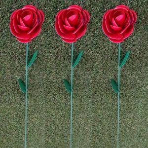 Générique Fountasia Mini tuteur de Roses Rouges 64 cm