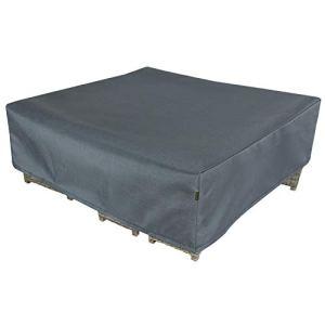 Hentex Cover Housse de mobilier de Jardin imperméable et Coupe-Vent en Tissu Oxford résistant aux UV pour Table de Jardin, Salon de Jardin 300X300X70cm