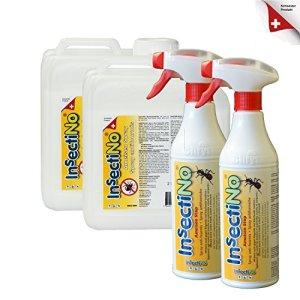 INSECTINO Stop fourmis Stop Bundle 2 + 2 l/bidon 2 x 500 ml Vaporisateur – Contre les types de tous les fourmis, agit auch charpente anti termites