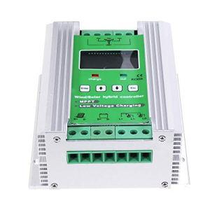 Jodie Bernol 300W 12V / 24V Boost Vent 150W Solaire MPPT Vent Solaire Hybride Régulateur Controleur écran LCD générateur Accessoires