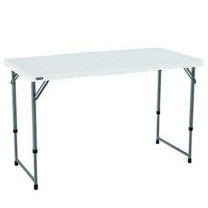 Lifetime Table pliante Blanc Granite 122 x 61 x 91 cm 4428