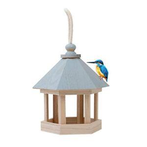 Mekta Mangeoire en Bois pour Oiseaux