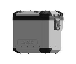 MyTech – Valise déchargée 41 litres en Aluminium Model-X Vernie Silver libération Rapide – Universelle pour Supports Model-X