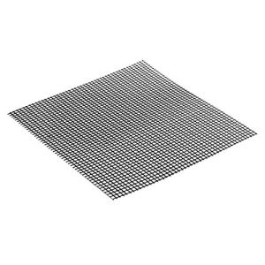 ouying1418 Grid Shape BBQ Mat for Outdoor Activities-Heat Resistance and Non-Stick