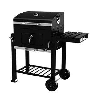RKY BBQ Grill – Épaissir un barbecue portable maison jardin charbon de bois grande villa extérieure de voiture barbecue sans fumée commerciale / – /