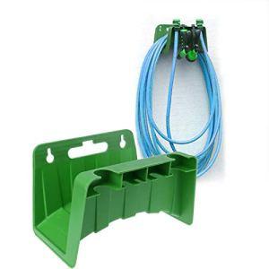 SYXZ Câble de clôture de Hangar de Support de Support de Support de Cintre de Tuyau de Jardin Mural,Vert