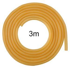 SYXZ Tuyau en Caoutchouc élastique de Bande de Latex Naturel 3M 6 * 9mm,3m