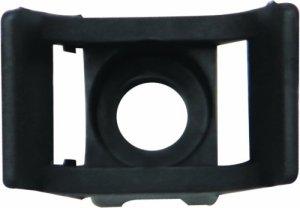 Thomas & Betts TBFCT_3401 Boîte de 100 embases à visser standard convient pour trou de 8 mm