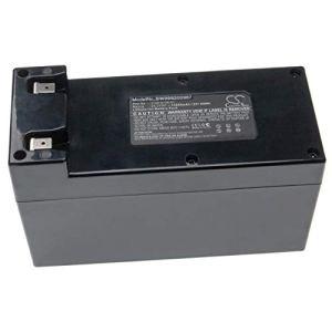 vhbw Batterie Compatible avec Ambrogio L200 Carbone, L200 Deluxe, L200 Deluxe 1B, L200 Deluxe 2B Tondeuse à Gazon (10200mAh, 25.2V, Li-ION)