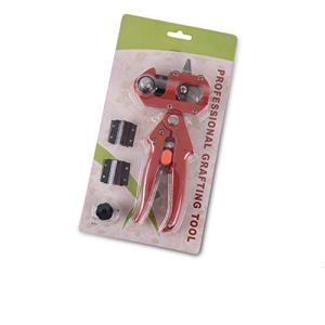 Vincrtnu Kit d'outils de Coupe de Cisaillement de sécateur de Jardinage Professionnel pour élagage avec Ruban de greffage pour Arbre fruitier.Rouge