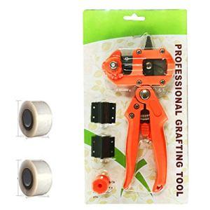 Vincrtnu Sécateurs et sécateurs, Ciseaux d'élagage tranchants/Outil de Jardinage, avec Ressort et Lame de Rechange, Confort Ergonomique.Orange Lite +2
