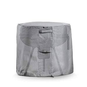 VonHaus — Housse protectrice pour barbecue rond — Tissu étanche et respirable — Pour utilisation en intérieur ou en extérieur — Protège du vent, de la pluie, du gel, de la chaleur et de la poussière