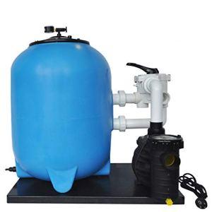 well2wellness OKU Système de Filtre à Sable Grenada Ø500 avec Aqua Plus 8 pour piscines jusqu'à Environ 60m³