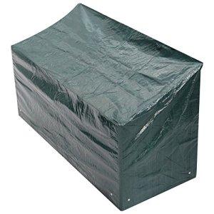 Woodside – Bâche/Housse de Protection pour Banc Quatre Places – imperméable – Vert – 1,8 m/6 ft