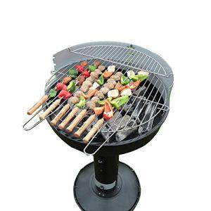 YONG FEI BBQ Grill – Barbecue de Jardin Barbecue de Jardin extérieur Portable Grill à Charbon de Bois Domestique 5 Personnes Barbecues au Charbon