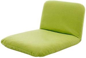 Yuzhonghua Mini Court Balcon lit Paresseux, dortoir lit Chaise de Repos des chaises Pliantes, Doux et Confortable (Color : Green)
