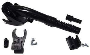 Arnold 6011-X1-2003 Bec verseur pour jerrycan en métal Modèle court Noir