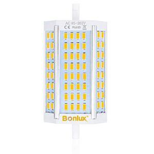 Bonlux LED R7S 30W Dimmable Ampoule Doublé Extrémités J118 LED Projecteur Blanc froid 6000k Remplacement de 300W R7S Ampoule Halogène