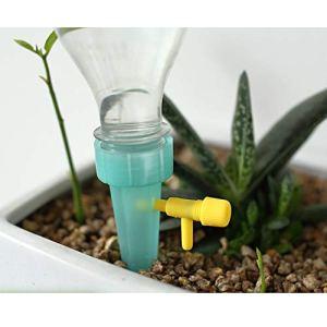 FairOnly – Lot de 3 arrosages automatiques réglables – Avec valve pour plantes – Pour intérieur – Articles créatifs