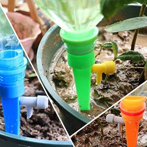 FairOnly Régulateur d'arrosage automatique pour jardinage en pot Articles créatifs, Couleur aléatoire : 1 pièce., 1 pc