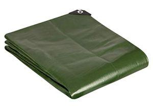 GardenMate® 2mx3m Bâche de protection en PP/PE rectangulaire vert 200g/m² -Outillage professionnel